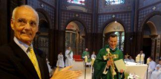 Messe de départ du Père Marc Boulle, curé de Sainte Marguerite : un bel au revoir !