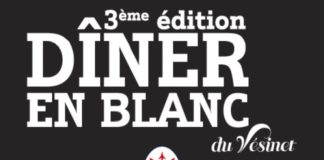 3e Dîner en blanc du Vésinet le samedi 18 juin, à 20h30 : the place to be !