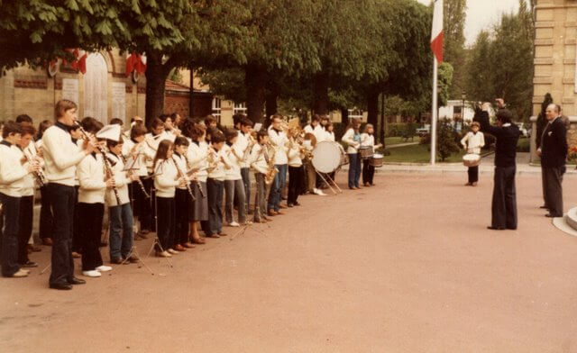 l'Harmonie Municipale en 1979