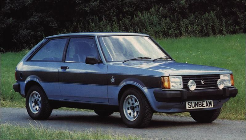Lotus Type 81 Talbot Sunbeam 1979-81