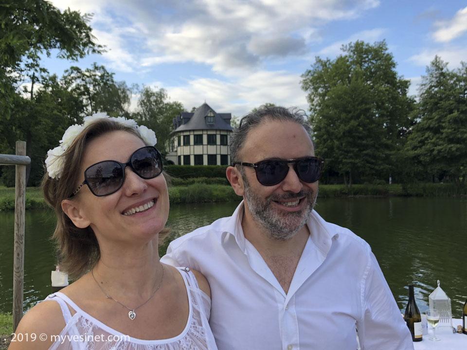 Olivier et Béata Créhange de l'agence Coldwell Banker de Saint-Germain-en-Laye